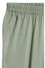 H&M+ Wide jersey trousers - Dusky green - Ladies | H&M 2