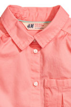 Sleeveless blouse - Coral pink -  | H&M 3