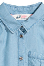 Sleeveless blouse - Blue -  | H&M 3