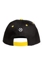 Cap with a print motif - Black/Minions - Kids | H&M 2