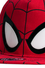 Cap with a print motif - Red/Spiderman - Kids | H&M 2