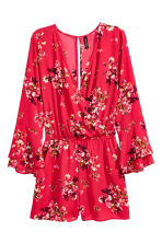 Playsuit - Red/Floral - Ladies | H&M 2