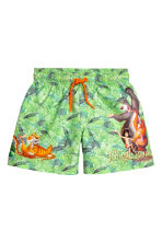 Swim shorts - Green/The Jungle Book - Kids | H&M 1