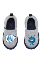 Soft slippers - Grey marl - Kids | H&M 1