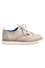 Brogues - Light mole - Kids | H&M 1