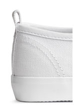 Canvas trainers - White -  | H&M 5