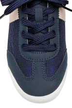 Mesh trainers - Dark blue - Kids | H&M 3