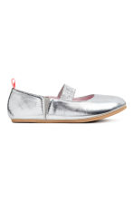 Ballet pumps - Silver - Kids | H&M 2