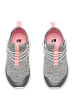 Jersey trainers - Grey marl - Kids | H&M CN 2