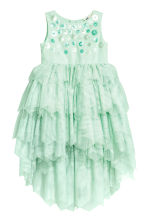 Tulle dress - Mint green -  | H&M 2