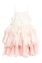 Tulle dress - Natural white/Light pink - Kids | H&M 2