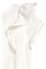 Frilled blouse - White - Kids | H&M 3