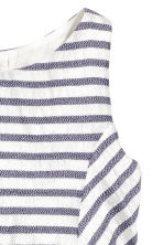 Striped dress - White/Dark blue/Striped - Kids | H&M 5