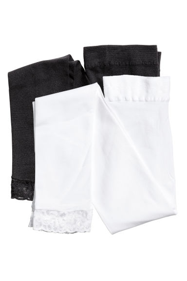 Lot de 2 leggings - Blanc - ENFANT | H&M FR 1