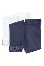 2-pack leggings - Dark blue -  | H&M 1