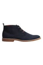 Desert boots - Dark blue - Men | H&M 1