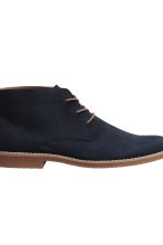 Desert boots - Dark blue - Men | H&M 4