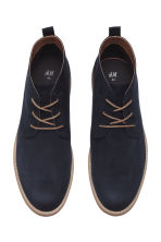 Desert boots - Dark blue - Men | H&M 2