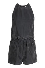 Sleeveless playsuit - Black - Ladies | H&M 2