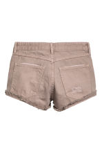 Short en jean Skinny Regular - Beige -  | H&M BE 3