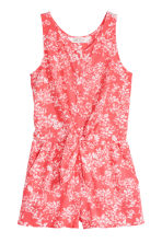 Playsuit - Coral/Patterned -  | H&M 2