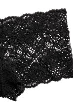 Lace shortie briefs - Black - Ladies | H&M CA 3