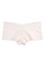Shortie in pizzo - Bianco naturale - DONNA | H&M IT 2