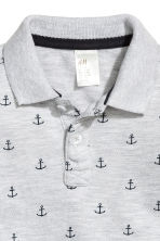 Polo shirt - Grey/Anchor - Kids | H&M CN 2