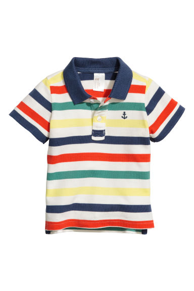 Polo shirt - Multistriped - Kids | H&M 1