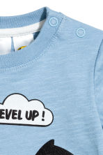 T-shirt con stampa - Blu - BAMBINO | H&M IT 2