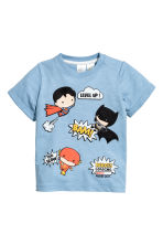 T-shirt con stampa - Blu - BAMBINO | H&M IT 1