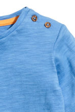 Long-sleeved T-shirt - Blue -  | H&M CN 2