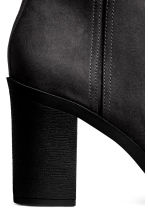 Zipped ankle boots - Black - Ladies | H&M 3
