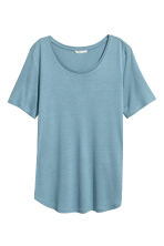 Jersey top - Turquoise - Ladies | H&M 2