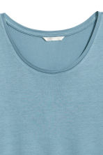 Jersey top - Turquoise - Ladies | H&M 3