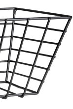 Small metal wire basket - Black - Home All | H&M CN 2