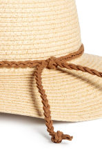 Straw hat - Natural - Kids | H&M CA 2