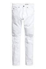 Biker jeans - White - Men | H&M 2