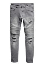 Biker jeans - Grey denim - Men | H&M CN 2