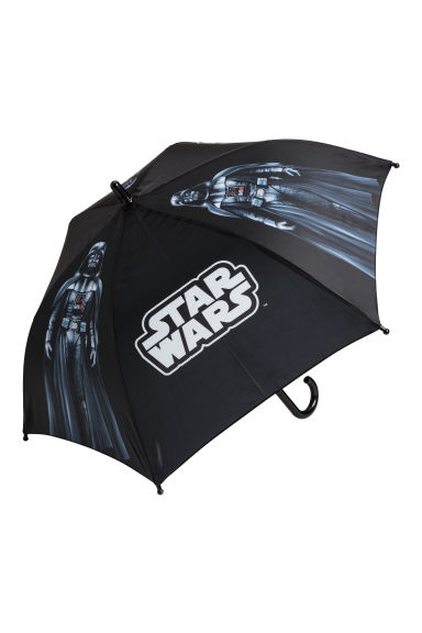 Umbrella - Black/Star Wars - Kids | H&M