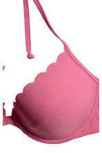 Push-up bikini top - Dark pink - Ladies | H&M 3