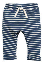 Top and trousers - Dark blue/Striped - Kids | H&M CN 2