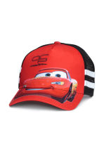 Cap - Red/Cars - Kids | H&M CN 1