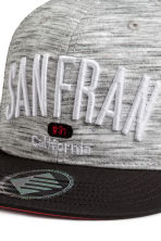Cap with appliqués - Grey/San Francisco -  | H&M CN 2