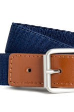 Elasticated fabric belt - Dark blue - Kids | H&M CN 2