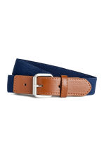 Elasticated fabric belt - Dark blue - Kids | H&M CN 1