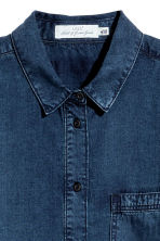 Lyocell tunic - Dark denim blue - Ladies | H&M 3
