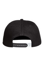 Cap with a motif - Black -  | H&M 2