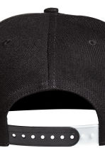 Cap with a motif - Black -  | H&M 3