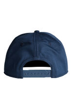 Cap with a motif - Dark blue/Blue -  | H&M 2